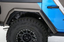 "Load image into Gallery viewer, 2018+ Jeep JL FiberwerX ""Stealth"" 4 Piece Fender Kit"