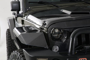 "2007-2017 Jeep JK ""Stealth"" 4 Piece Fender Kit"