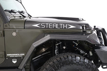 "Load image into Gallery viewer, 2007-2017 Jeep JK ""Stealth"" 4 Piece Fender Kit"