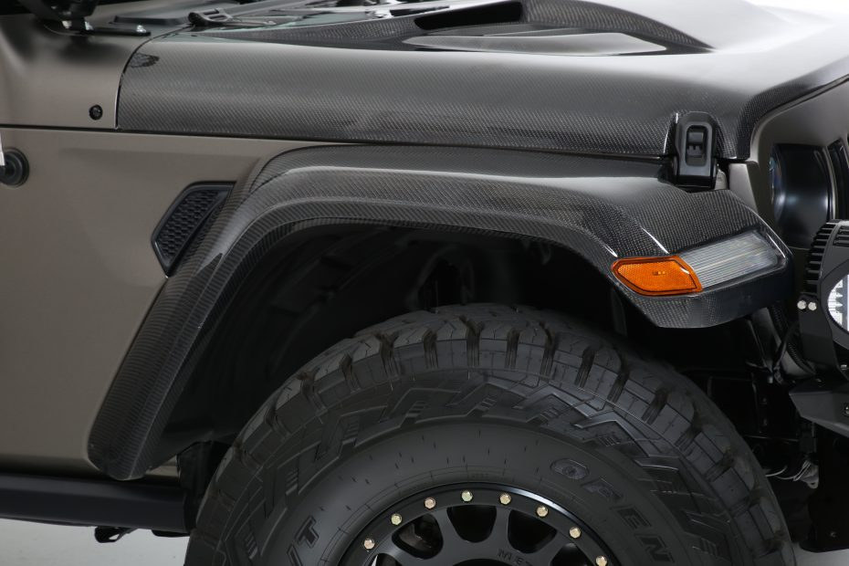 "2018+ Jeep JL FiberwerX ""RebelX"" 6 Piece Fender Kit"