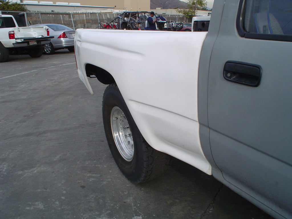 1989-1995 Toyota Pickup To 04 Tacoma Conversion Bedsides
