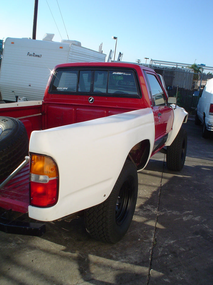 1984-1988 Toyota Pickup To 04 Tacoma Conversion Bedsides