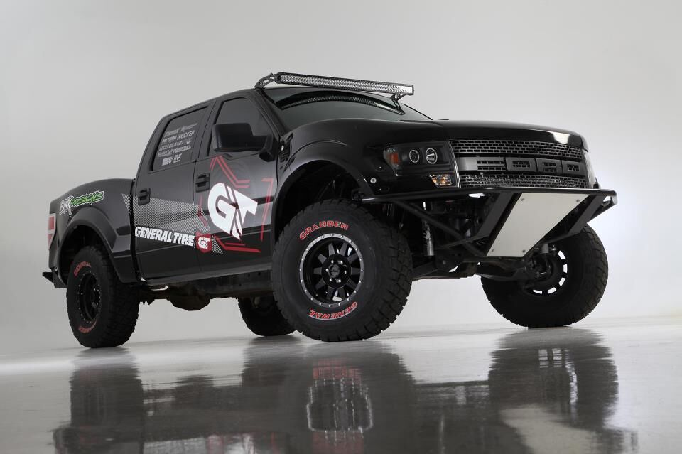 2004-2014 Ford F-150 To 1st Gen Raptor One Piece Conversion