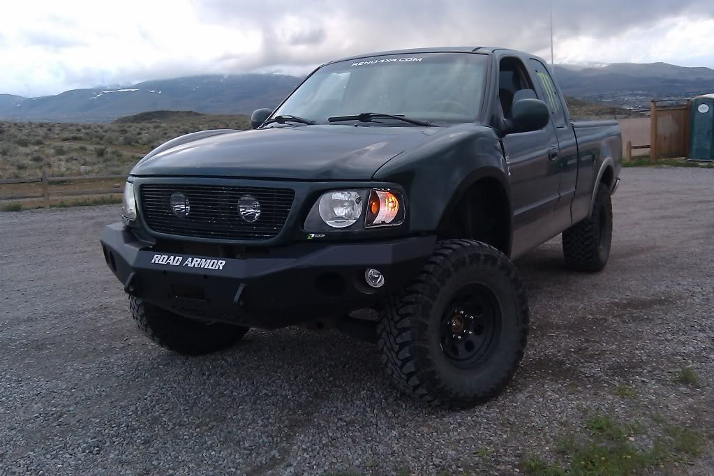 1997-2003 Ford F-150 Fenders - TT Style