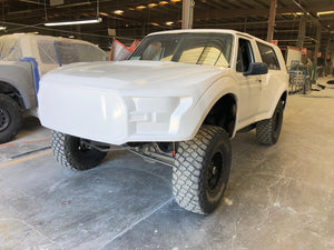 1980-1996 Ford Bronco to Gen 2 Raptor One Piece Conversion