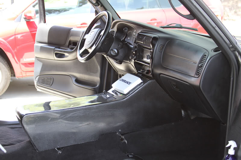 1995-2011 Ford Ranger - Center Console