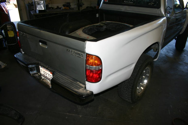 1996-2004 Toyota Tacoma Bedsides - Flat Top