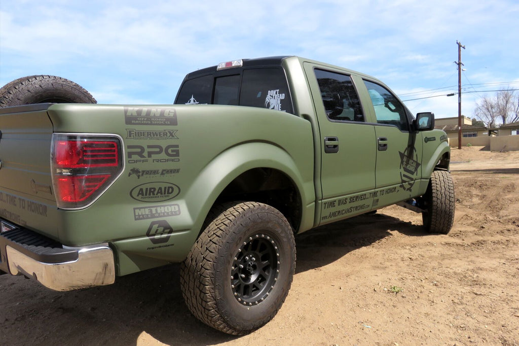 2009-2014 Ford F-150 Bedsides - TT Style