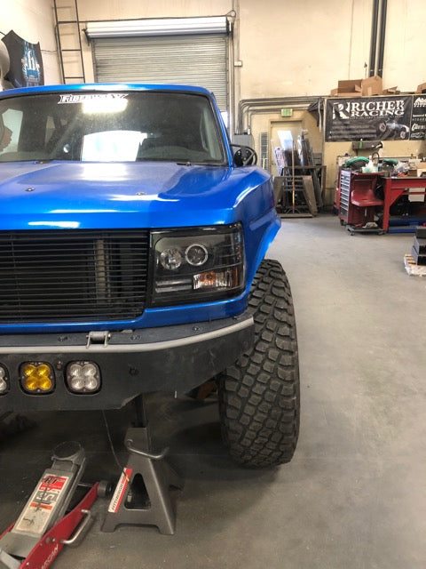 "1980-1996 Ford Bronco ""Retro"" One Piece"
