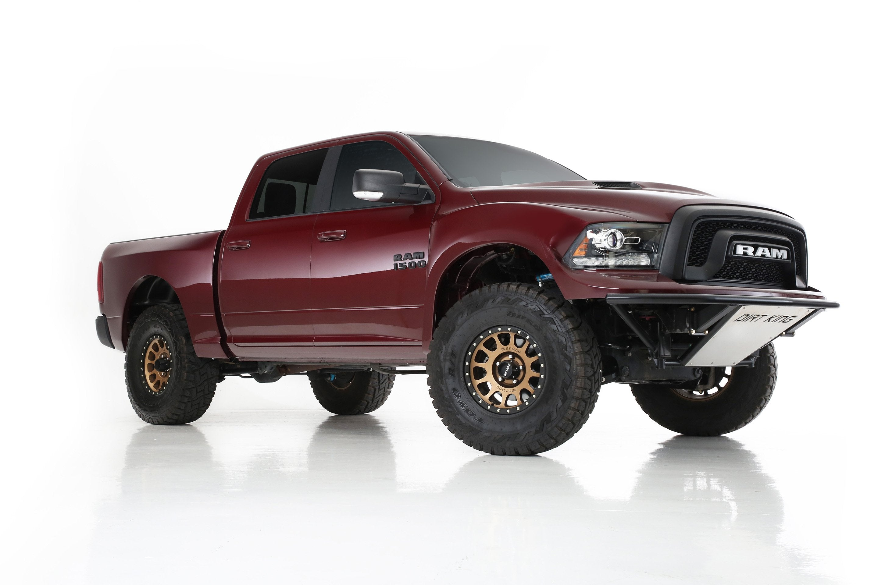 2009-2018 Dodge Ram Bedsides - Flat Top