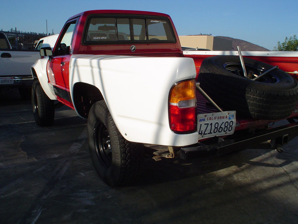 1984-1988 Toyota Pickup To 2004 Tacoma Conversion Bedsides