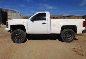 2007-2013 Chevy Silverado To 2018 Conversion Bedsides