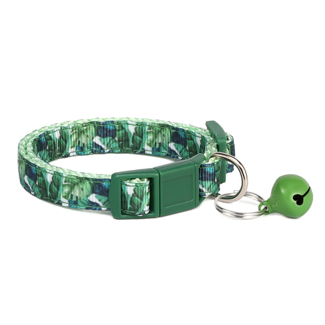 Tropical Forest Cat Collar