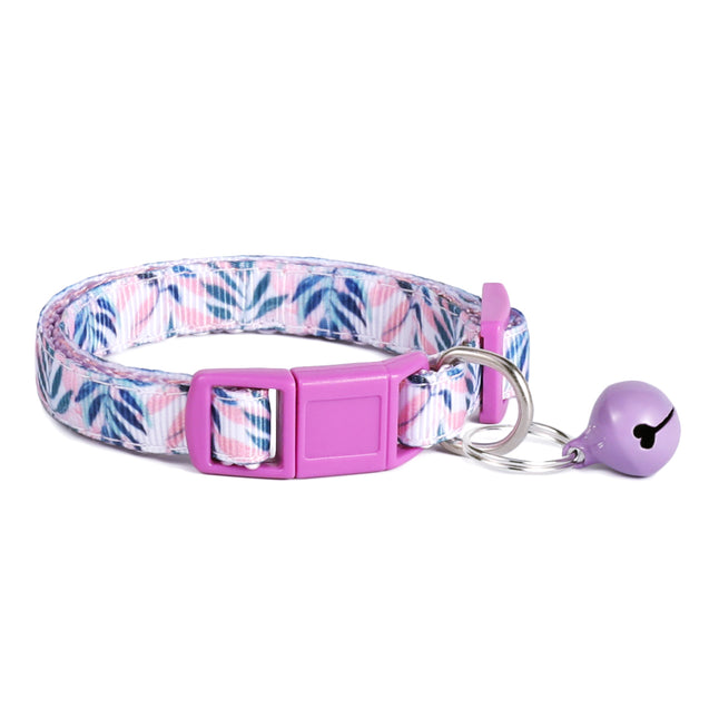 Lavender Breeze Cat Collar