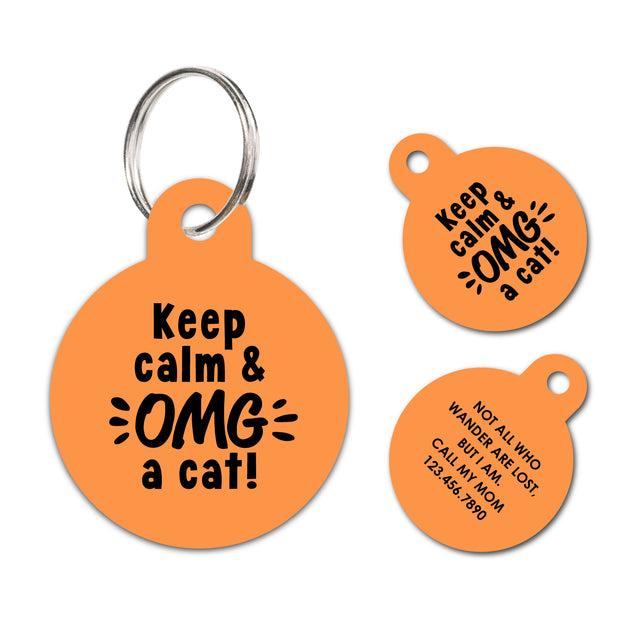 Personalized Funny Pet ID Tag