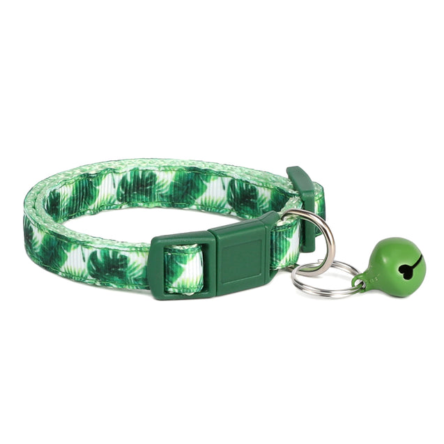 Palm Garden Dog Collar
