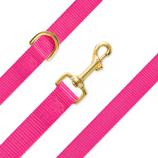 Classic Rose Nylon Leash