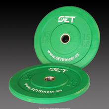 Load image into Gallery viewer, SET™ Bumper Plates-                      Below Cost / Free Shipping- Limited Supply