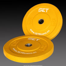 Load image into Gallery viewer, SET™ Fitness Colored Olympic Bumper Plate