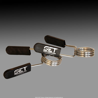 SET™ Fitness Spring Collars (Pair)  - Free UPS Shipping