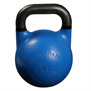 Paradigm Pro® Elite Precision Steel Competition Kettlebell - 35 mm Handle Diameter