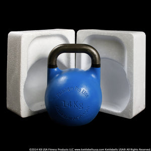 Paradigm Pro® Elite Precision Steel Competition Kettlebells are professionally packaged to prevent shipping damage - Free Shipping