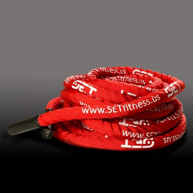 SET™ Fitness - Highest Quality Battle Rope- At Cost Clearance Price - Only 2 Left