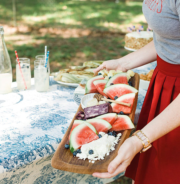 "THE PERFECT INDEPENDENCE DAY BRUNCH - AN INTERVIEW WITH ""THE HURRIED HOSTESS"""