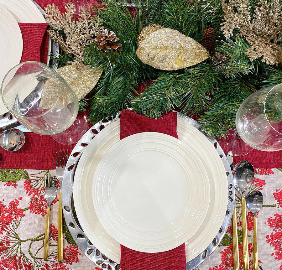 DIY CHRISTMAS TABLE SETTING TO RECREATE TODAY