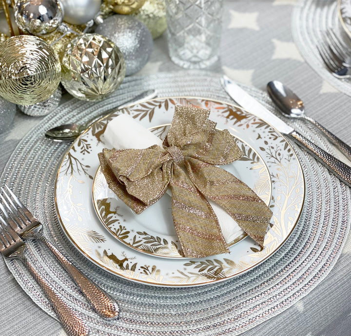 8 TIPS FOR AN ELEGANT & STRESS-FREE CHRISTMAS TABLE SETTING