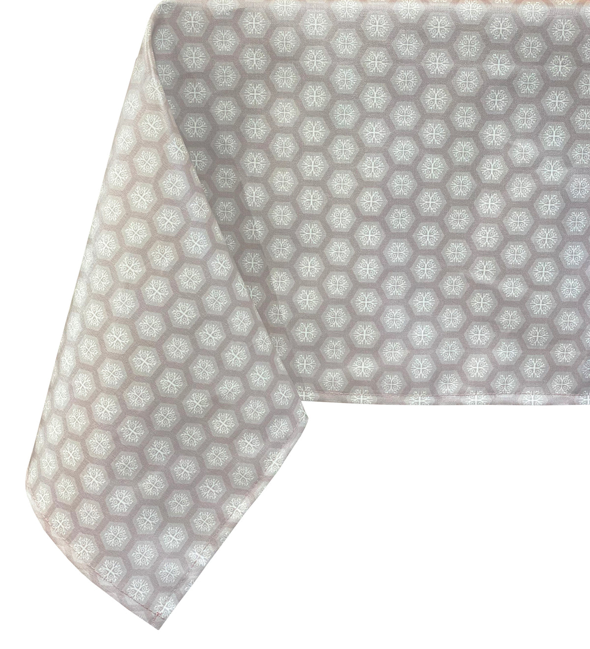 HEXA WIPEABLE TABLECLOTH