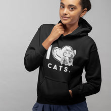 Laden Sie das Bild in den Galerie-Viewer, I LOVE CATS Hoody