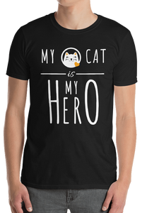 "Shirt ""MY CAT is MY HERO"""