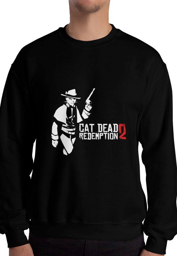Red Dead Redemption 2 - Catcowboy Sweatshirt