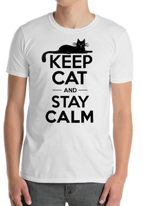 KEEP CAT and STAY CALM Shirt