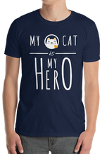 "Laden Sie das Bild in den Galerie-Viewer, Shirt ""MY CAT is MY HERO"""
