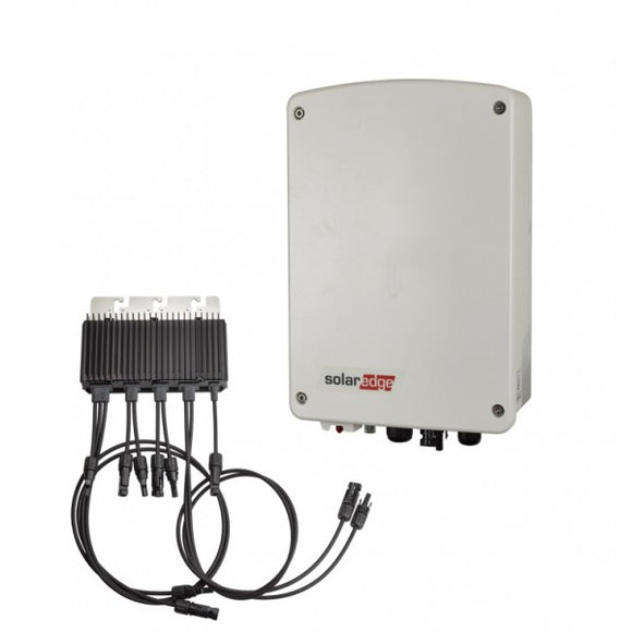 Solaredge 2000M + M2640 optimizer Incl. monitoring interface