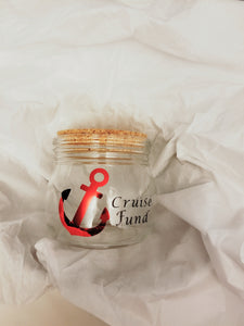 Fund Jar - Cruise Fund - thegiftkornershop