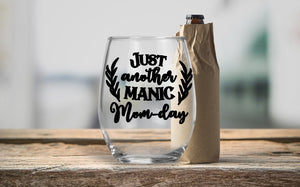 Stemless Wine Glass - Just Another Manic Mom-Day - thegiftkornershop