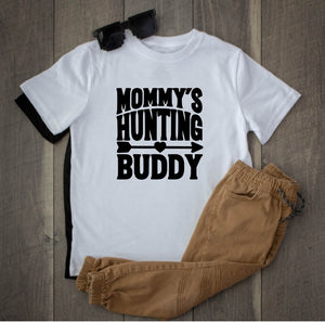 Toddler Softstyle Tee - Mommy's Hunting Buddy - thegiftkornershop