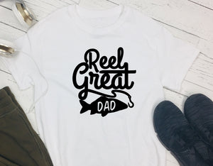 T-Shirt - Reel Great Dad - thegiftkornershop