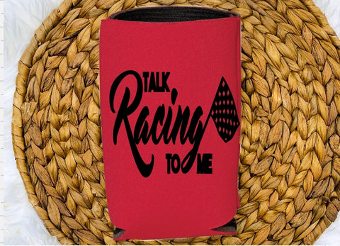 Insulated Can Holder - Talk Racing To Me - thegiftkornershop