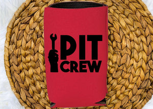 Insulated Can Holder - Pit Crew - thegiftkornershop