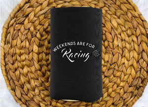 Insulated Can Holder - Weekends Are For Racing - thegiftkornershop