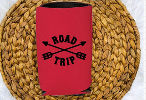 Insulated Can Holder - Road Trip - thegiftkornershop