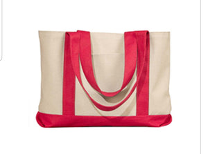 Canvas Tote Bag - Personalization For Free - thegiftkornershop