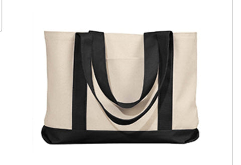 Canvas Tote Bag - Soccer Mom - thegiftkornershop