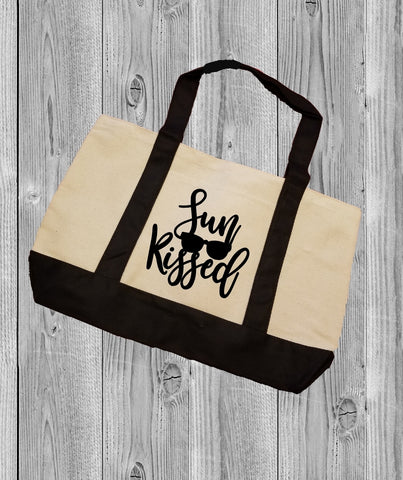 Canvas Tote Bag - Sun Kissed - thegiftkornershop