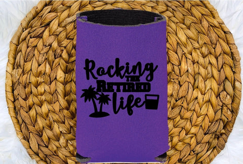 Insulated Can Holder - Rocking The Retired Life - thegiftkornershop