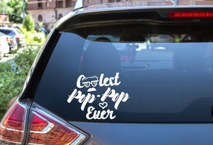 Car Window Decal - Coolest Pop - Pop Ever - thegiftkornershop